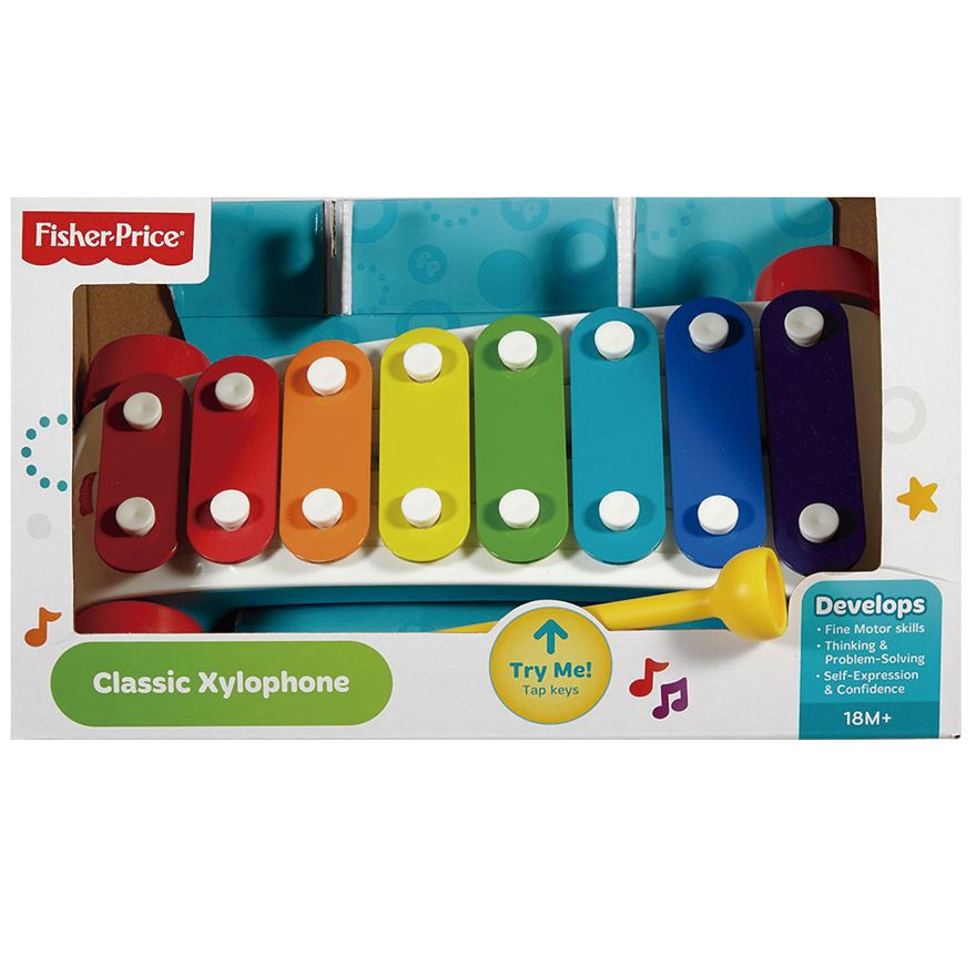 6-Xilofone-Colorido-e-Carrinho---Fisher-Price