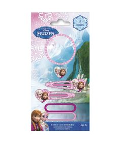 Conjunto-de-Acessorios-de-Moda---Disney---Frozen---Blister-com-5-Pecas---Euroswan