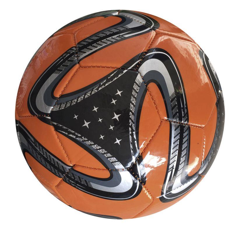Bola de Futebol - Laranja e Preta - DTC - Ri Happy Brinquedos fd0f9ae787acb
