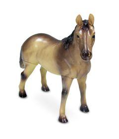 Figura-Bicho-Mundi---20-Cm---Cavalos---Laranja-e-Branco---DTC