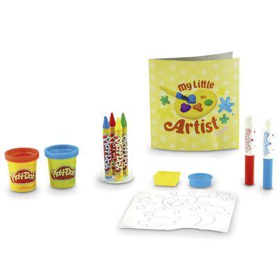Massa-de-Modelar---Play-Doh---Conjunto-Meu-Pequeno-Artista---DTC