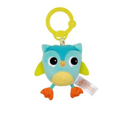 Chocalho-Mobile-de-Pelucia---Bichinho-com-Sino---Coruja---New-Toys