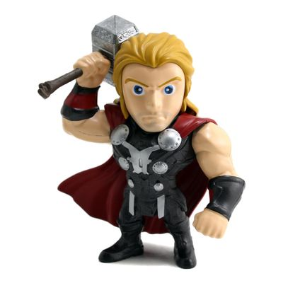 Figura-Colecionavel-15-Cm---Metals---Disney---Marvel---Civil-War---Thor---DTC