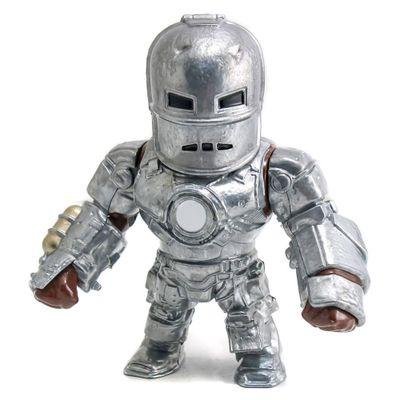 Figura-Colecionavel-15-Cm---Metals---Disney---Marvel---Civil-War---Iron-Man---DTC