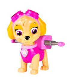 Boneco-Patrulha-Canina---Skye-com-Lancador-Jumbo---Sunny