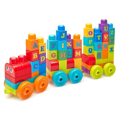 Mega-Blocks---Comboio-ABC---60-pecas---Fisher-Price