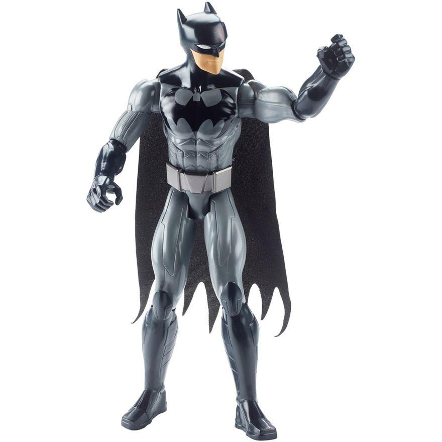 Boneco-Articulado-Batman---30-cm---Liga-da-Justica---Batman---Cinza---Mattel