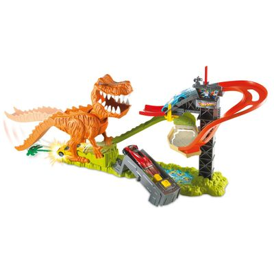 Pista-Hot-Wheels---Ataque-Dinossauro-T-Rex---Mattel
