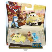 Carrinho---Disney-Carros---Viagem-de-Estrada---Luigi-e-Guido---Mattel