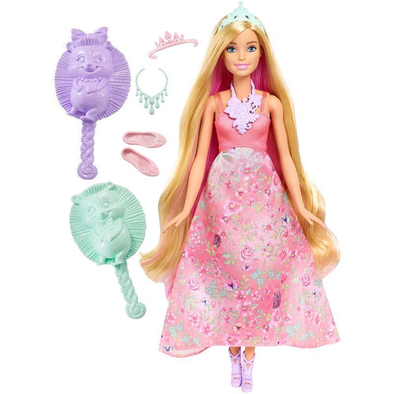 68fdf247f5 Boneca Barbie - Dreamtopia - Princesa Cabelos Mágicos - Mattel - PBKIDS