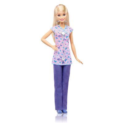 Boneca-Barbie---Profissoes---Medica--Mattel