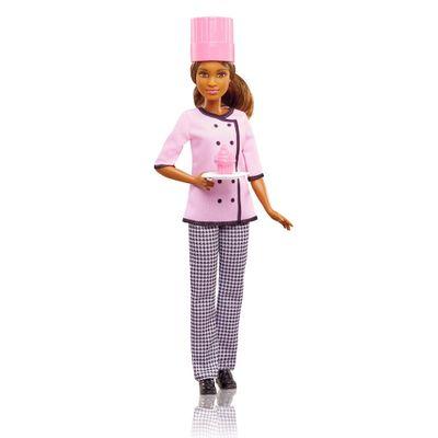 Boneca-Barbie---Profissoes---Cheff-Cupcake---Negra---Mattel