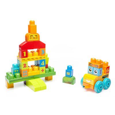 Mega-Blocks---Onibus-da-Escola-123---45-pecas---Fisher-Price