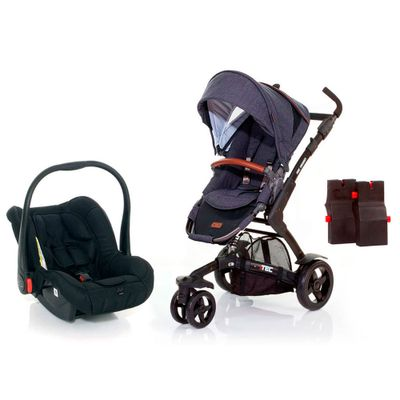 Travel-System-com-Adaptador---3-Tec-Style-Street---ABC-Design
