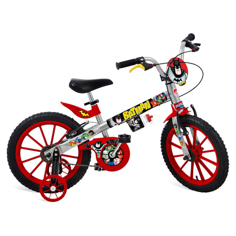 f2dfcaca2 Bicicleta Aro 16 - Liga da Justiça - Batman - Bandeirante - Ri Happy  Brinquedos