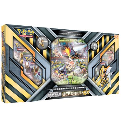 Jogo-Deluxe---Box-Pokemon---Colecao-Premium---Mega-Beedrill-EX---Copag