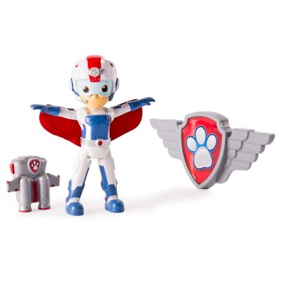 Figura-Articulada---Patrulha-Canina---Resgate-Aereo---Ryder---Sunny