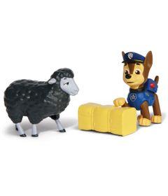 Mini-Figuras---Pack-de-Resgate-Amigo---Patrulha-Canina---Chase-e-Marley---Sunny
