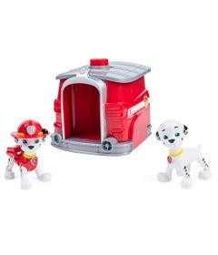 Playset-e-Figuras---Patrulha-Canina---Marshall-com-Casinha-de-Transformacao---Sunny