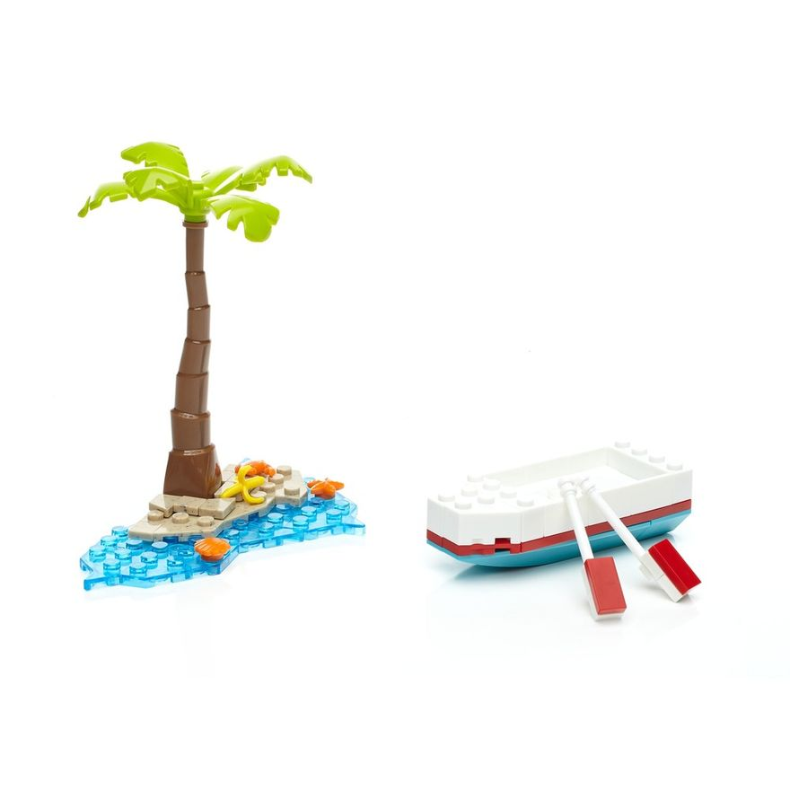 Playset Mega Bloks - Minions - Fuga no Barco a Remos - Mattel