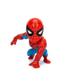 Figura-Colecionavel-15-Cm---Metals---Disney---Marvel-Spider-Man---Classic-Spider-Man---DTC