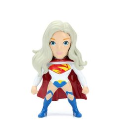 Figura-Colecionavel-6-Cm---Metals---DC-Super-Hero-Girls---Supergirl-Branca---DTC