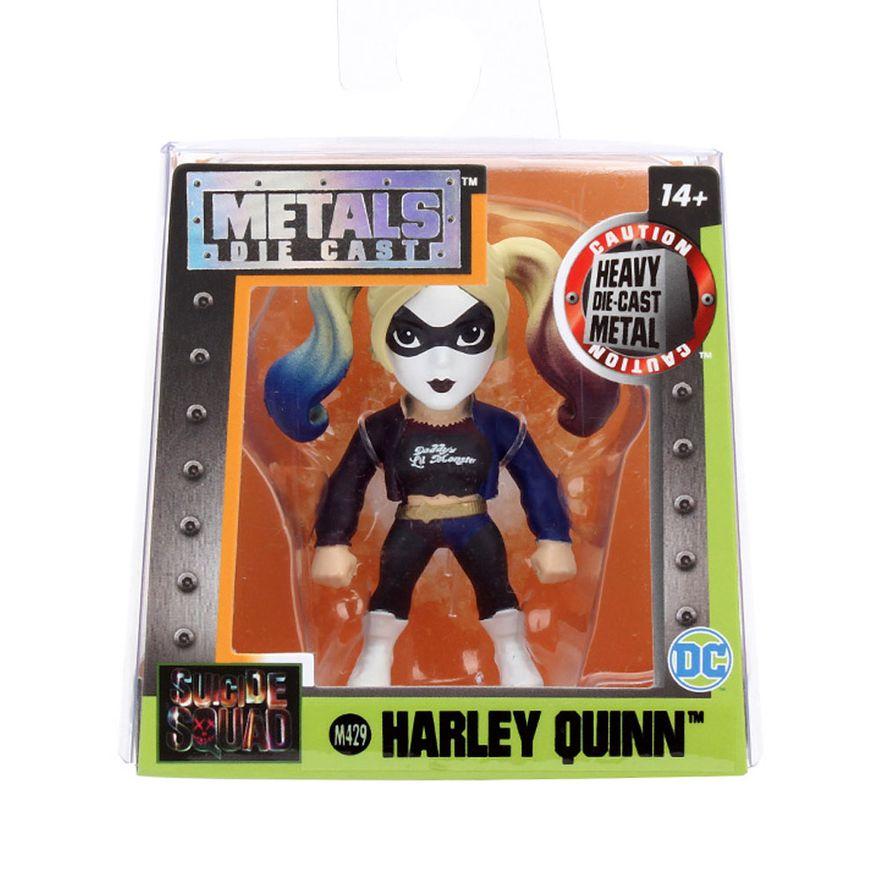 Figura-Colecionavel-6-Cm---Metals---DC-Comics---Suicide-Squad---Harley-Quinn-Black---DTC