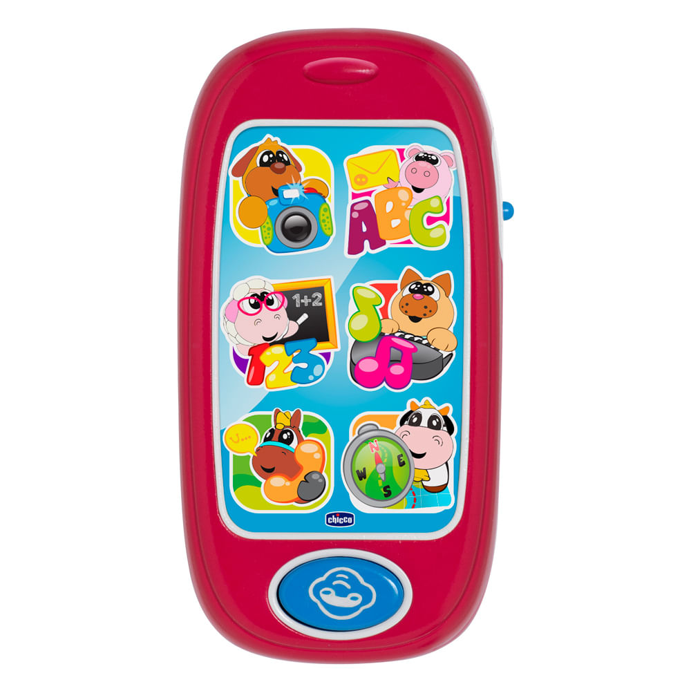 Smartphone com Som de Animais - Chicco