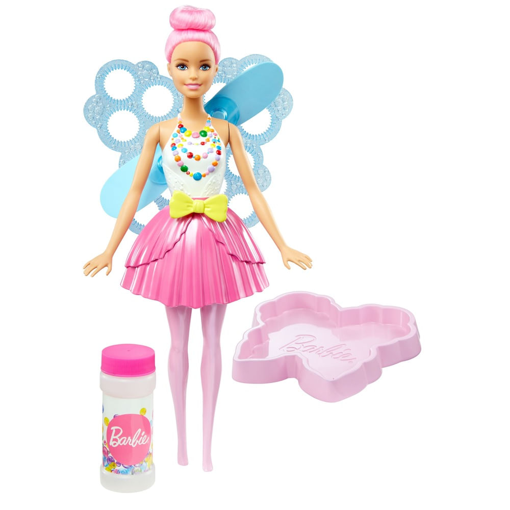 Boneca Articulada - Barbie Dreamtopia - Fada Bolhas Mágicas - Mattel