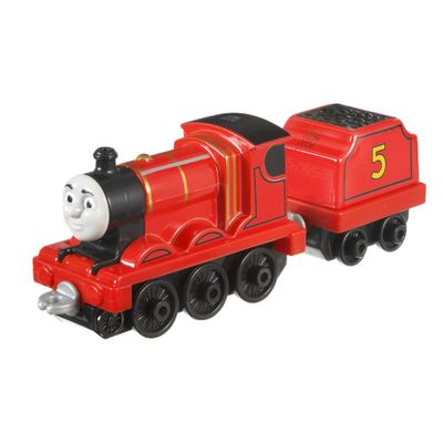 Locomotiva-Die-Cast-Grande---Thomas-e-Friends---James---Fisher-Price