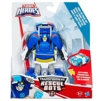 Boneco-Transformers-Rescue-Bots---Chase-The-Cop-Bot---Hasbro