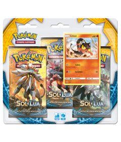 Deck-Pokemon---Triple-Pack---Pokemon-Sol-e-Lua---Litten---Copag