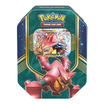 Jogo-Pokemon---Deck-Lata-Pokemon-EX---Batalha-do-Coracao---Volcanion---Copag