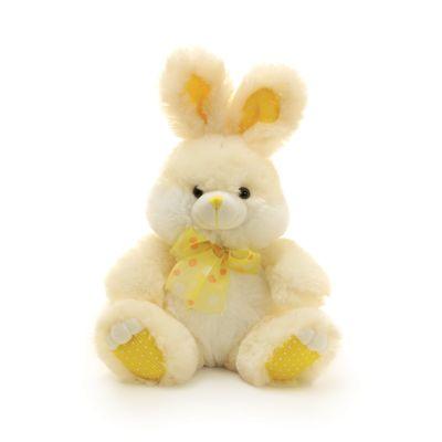 Pelucia-Kids-Coelho---32-cm---Amarelo---Cromus