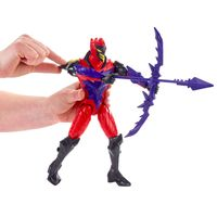 Boneco-Articulado---30-Cm---Max-Steel---Missoes-Turbo---Dread-Arco-e-Espada---Mattel