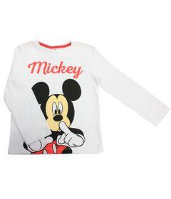 Camiseta-Manga-Longa-em-Meia-Malha-Flame---Mickey---Branco---Disney