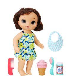 705a9457c7 Boneca Baby Alive - Morena - Sorvete Mágico - C1089 - Hasbro