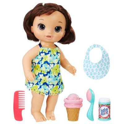 Boneca-Baby-Alive---Morena---Sorvete-Magico---Hasbro