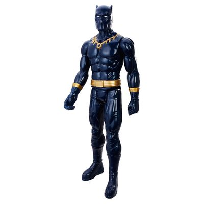 Figura-de-Acao---30-cm---Titan-Hero-Series---Pantera-Negra---Vingadores---Marvel---Hasbro
