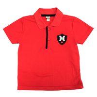Camiseta-Polo-Manga-Curta---Mickey---Vermelho-e-Marinho---Disney---3
