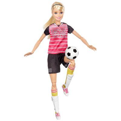 Boneca-Barbie---Feita-para-Mexer---Esportista---Jogadora-de-Futebol-Loira---Mattel