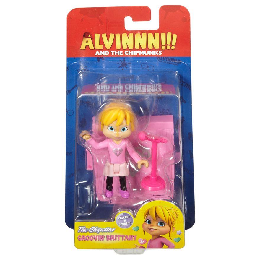 Mini-Figura-com-Acessorios---Alvim-e-os-Esquilos---Groovin--Britany---Mattel