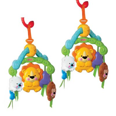 Kit-com-2-Mini-Mobiles---Bichinhos---Fisher-Price