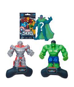 Conjunto-Battle-Master-Heroes---Disney-Marvel---Ultron-e-Hulk-com-Boneco-Surpresa-Serie-4---Hasbro