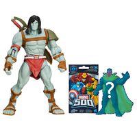 Conjunto-Boneco-Articulado---Marvel-Hulk-And-The-Agents-Of-SMASH---Skaar-e-Boneco-Surpresa-Serie-4---Hasbro