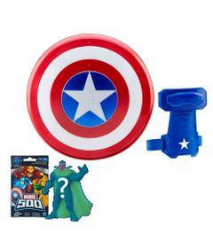 Conjunto-com-Acessorios-e-Boneco-Surpresa-Serie-4---Disney---Marvel---Guerra-Civil---Capitao-America---Hasbro