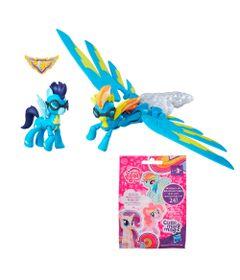 Conjunto-Figuras-e-Veiculo---My-Little-Pony---Mini-Figura-Sortida-Cutie-Mark-Magic-e-Spitfire-com-Soarin---Hasbro