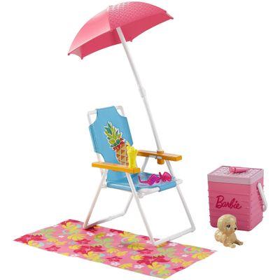 Acessorios-para-Bonecas-Barbie---Acessorios-para-Casinha---Kit-de-Praia---Mattel