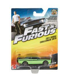 Carrinho-Die-Cast---Hot-Wheels---Velozes-e-Furiosos---2011-Dodge-Challenger-SRT8---Mattel