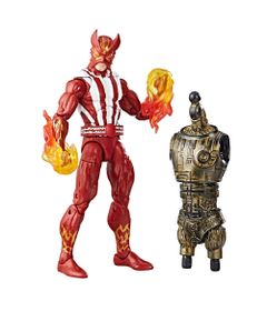 Boneco-Marvel-Legends---Build-a-Figure---Marvel-s-Warlock---X-Men---Marvel-s-Sunfire---Hasbro